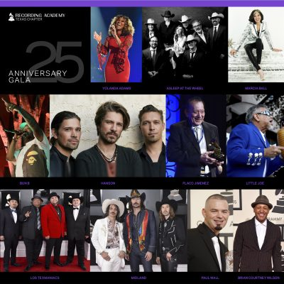 Recording Academy Texas Chapter's 25th Anniversary Celebration