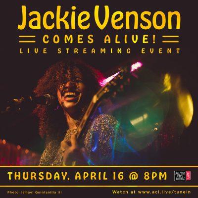 Live Stream: Jackie Venson Comes Alive!